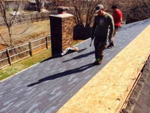 Harrison's at working _ Roofing