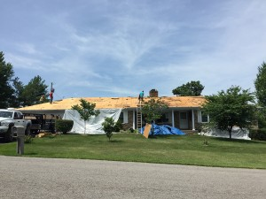 Harrison's Roofing _ Working 2