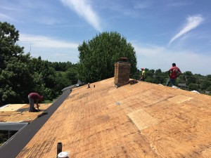 Harrison's Roofing _ Working